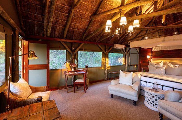 Treetops Safari Lodge Luxury Tent