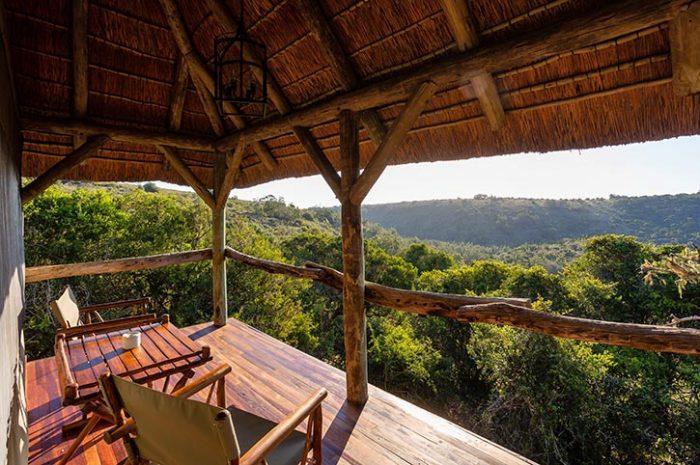 Treetops Safari Lodge Private Deck