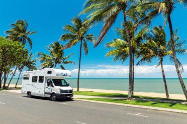 Motorhome in Trinity Beach, Cairns