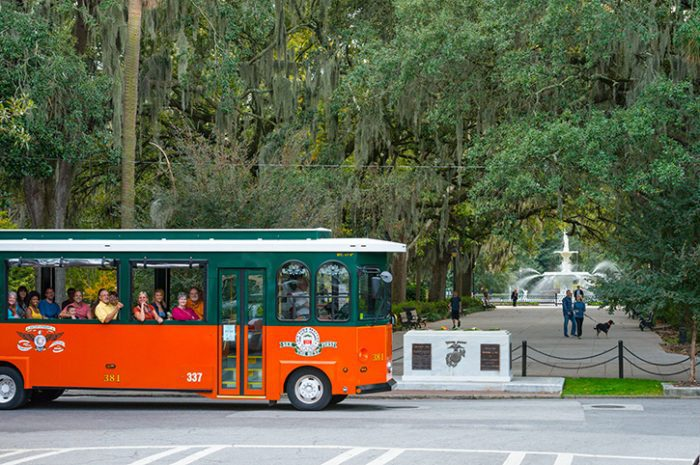 Old Town Trolley Tour, Savannah, USA