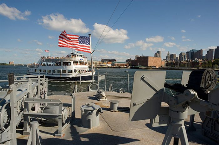 USS Cassin Young, Boston Harbour