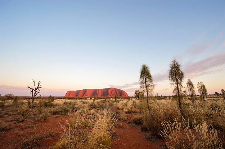 Sunset at Uluru, Northern Territory