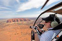 Helicopter Flight Over Uluru