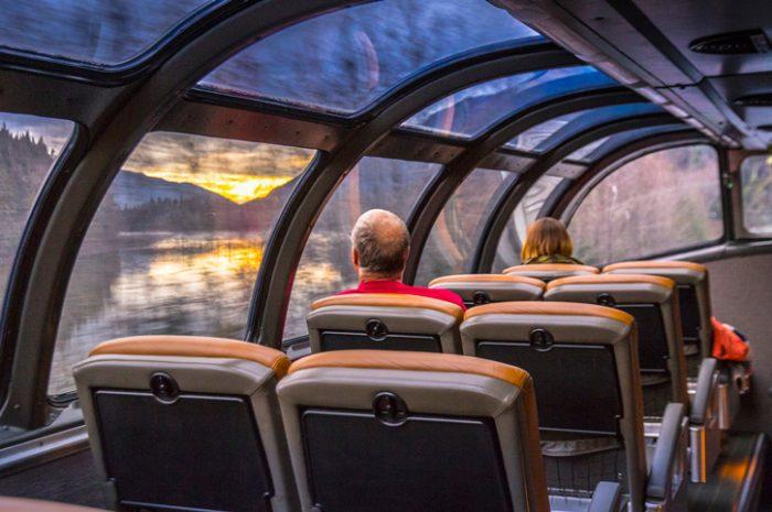On board VIA Rail