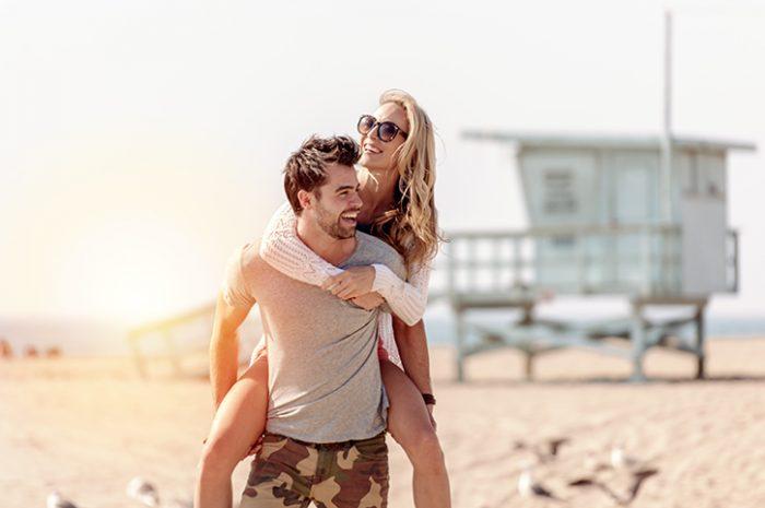 Couple at Venice Beach