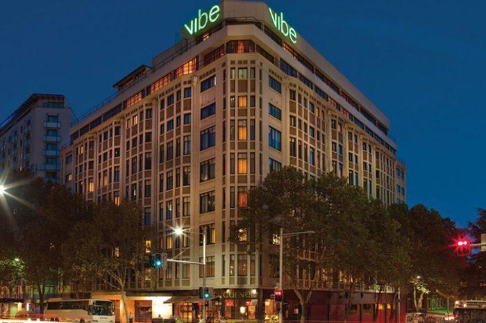 Vibe Sydney Hotel Exterior Night