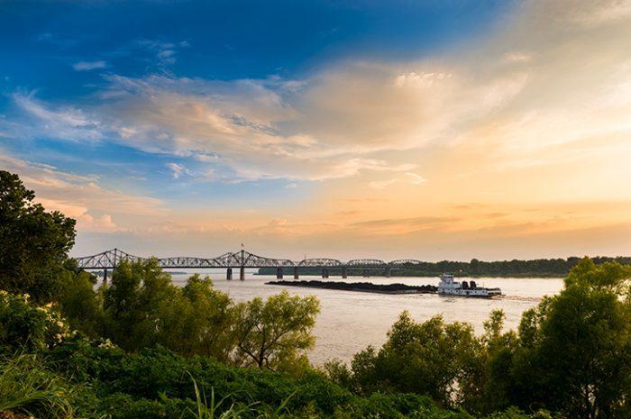 Vicksburg Bridge, Mississippi River