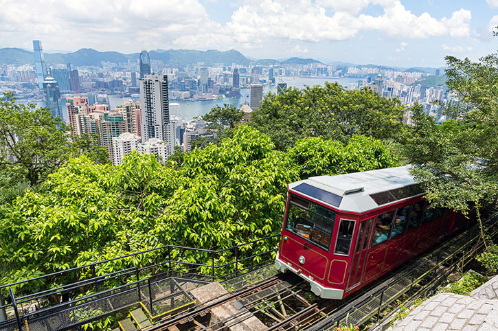 Victoria-Peak-Train-Hong-Kong