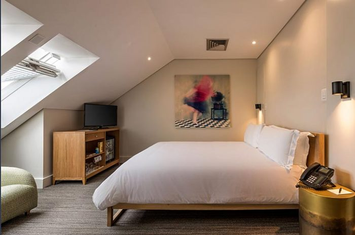 Loft Room, Victoria & Alfred Hotel