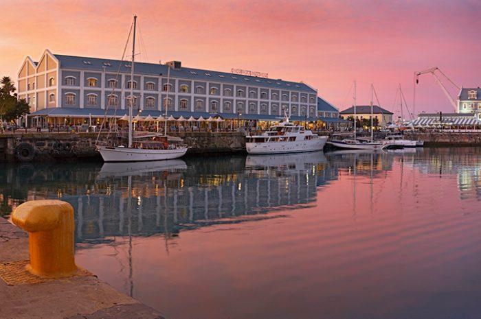 Sunset, Victoria & Alfred Hotel