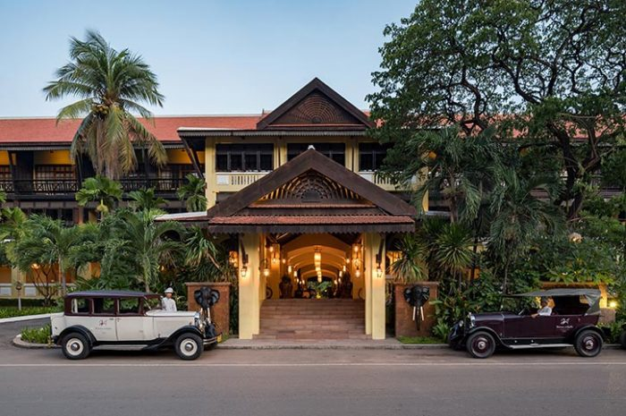 Victoria Angkor Resort Entrance