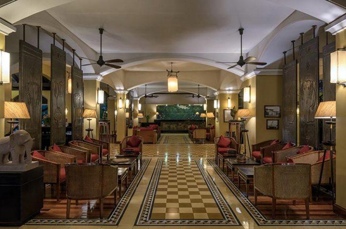 Victoria Angkor Resort Lobby