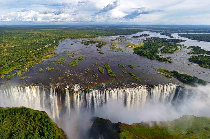Victoria Falls and the Zambezi River