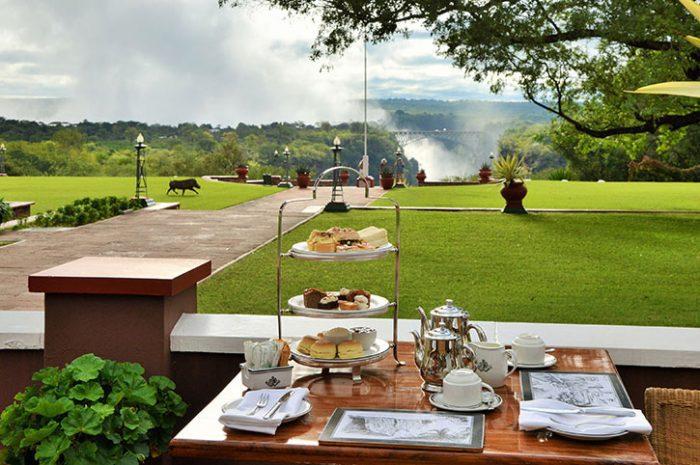 High Tea, Victoria Falls Hotel
