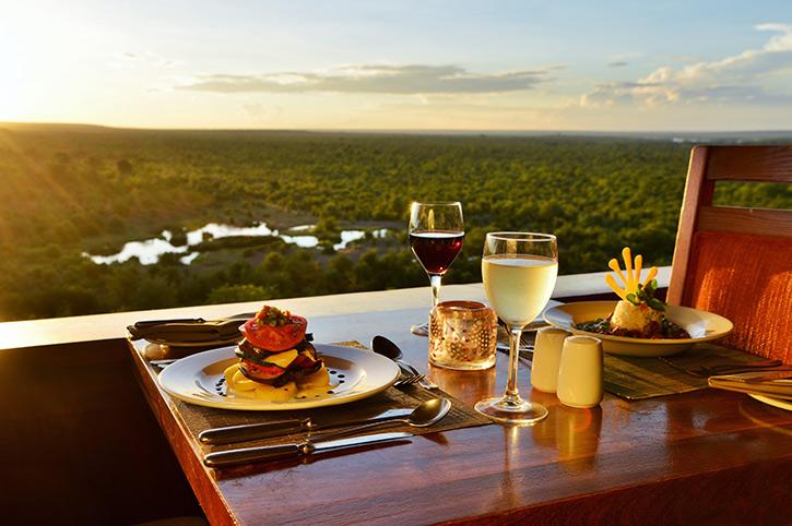 Victoria Falls Safari Lodge Makuwa-Kuwa Restaurant