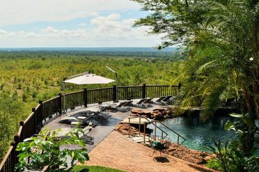 Victoria Falls Safari Lodge Swimming Pool