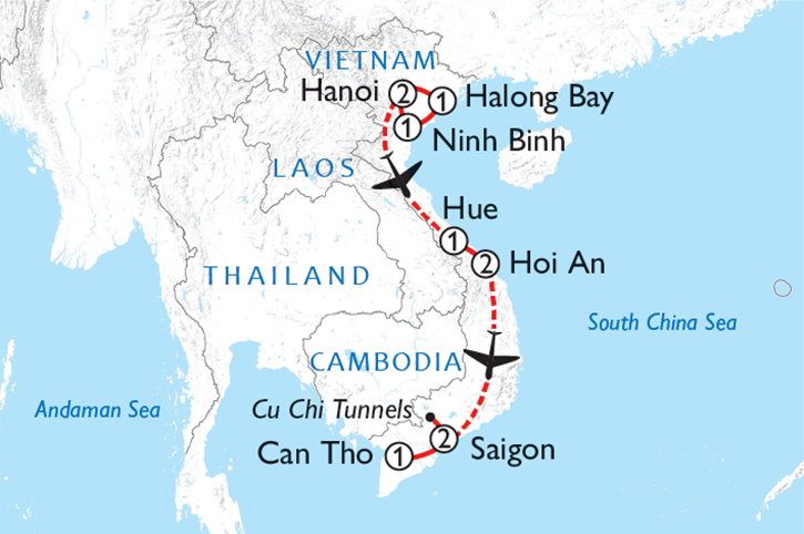 Vietnam Insights Map