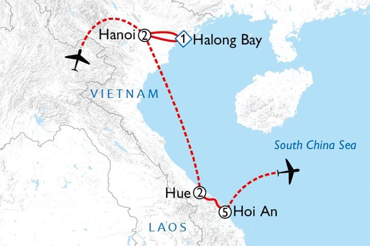 Vietnam Heritage Map
