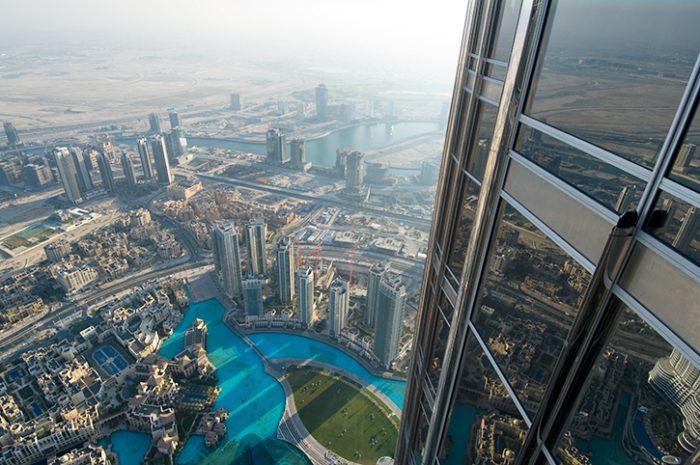 Observation deck, Burj Khalifa