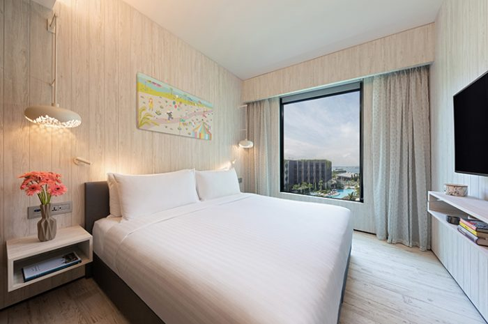 Deluxe room, Village Hotel Sentosa
