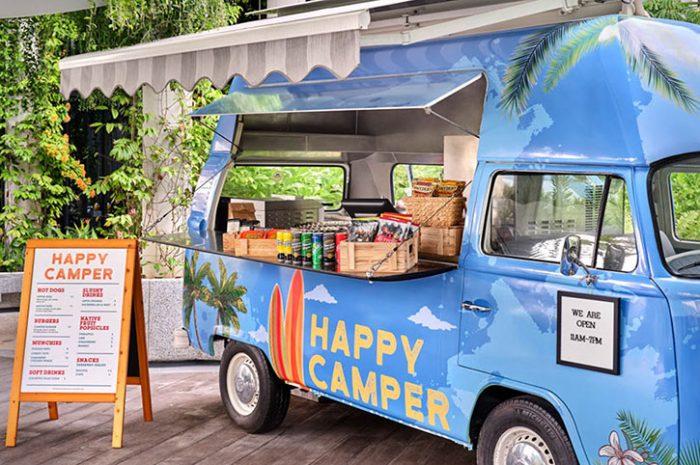 Happy Camper, Village Hotel Sentosa