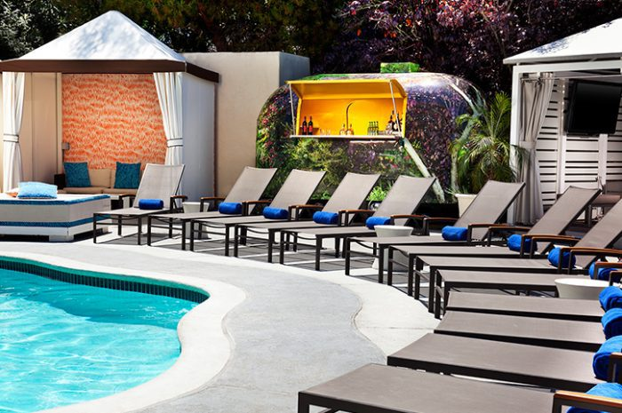 W Los Angeles West Beverly Hills Poolside Bar