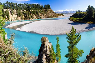 Waimakariri River, New Zealand