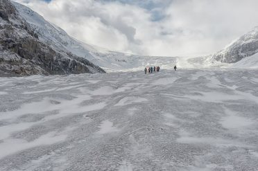 Walking Across Icefields, Canada