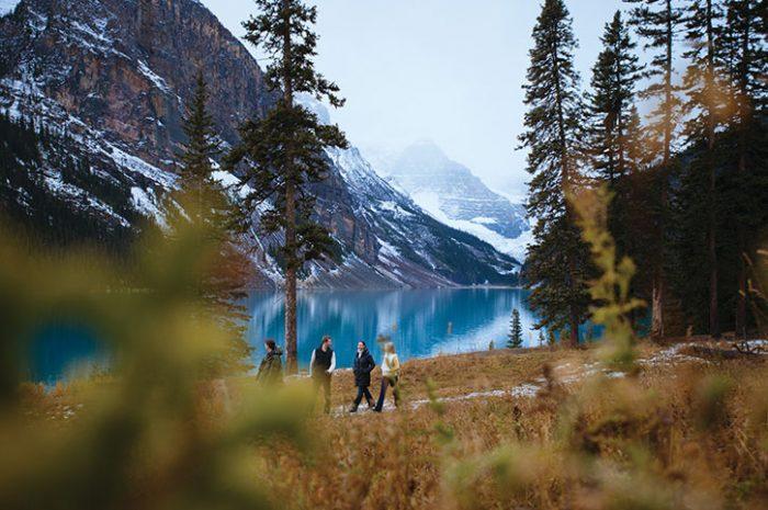 Walking Through the Rockies, Canada