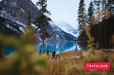 Walking Through Rockies, Canada