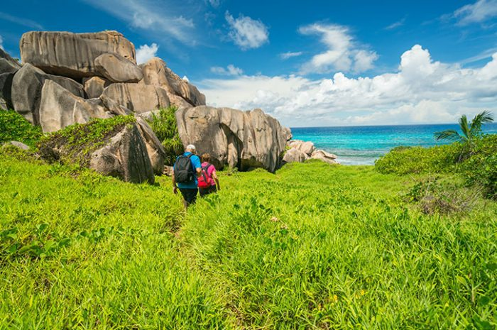Walking Through Wilderness, Seychelles