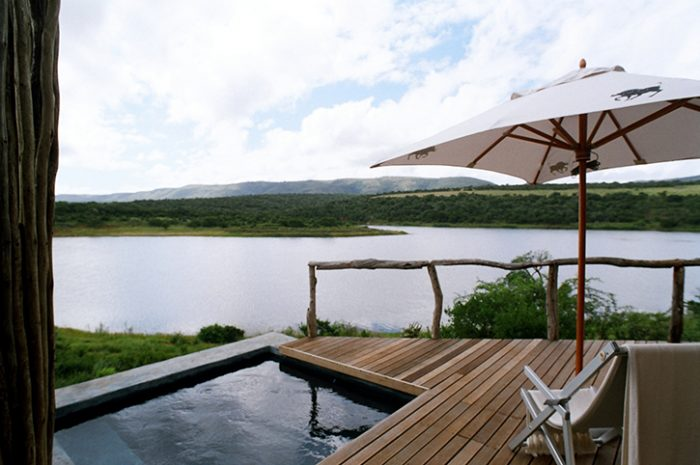 Water Lodge Chalet Plunge Pool