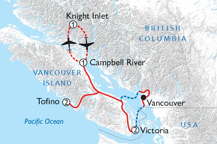 Whale & Bear Adventure Map
