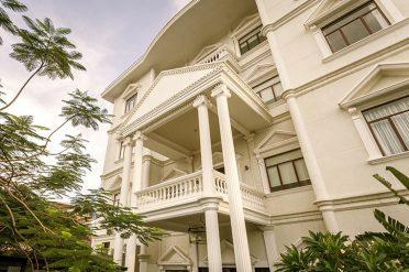 White Mansion Facade