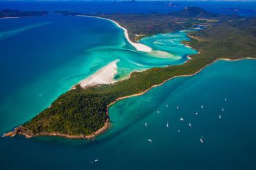 Whitehaven Beach, Whitsundays, North Queensland, Australia