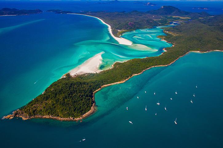 Whitehaven Beach, Whitsundays, North Queensland, Australia