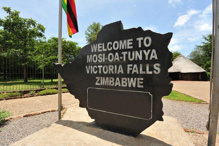 Victoria Falls Entrance