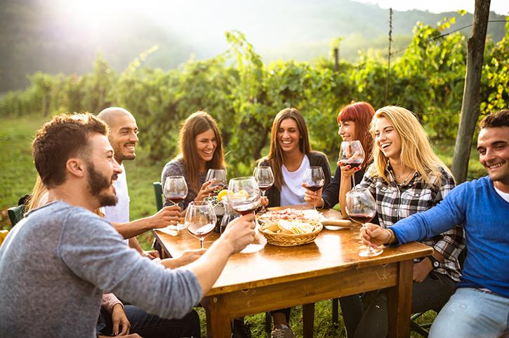 Wine Tasting, Calfiornia, USA