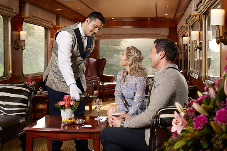 Observation Lounge, Blue Train