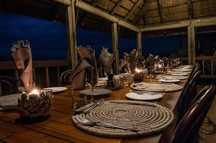 Woodbury Lodge Amakhala Boma Dinner