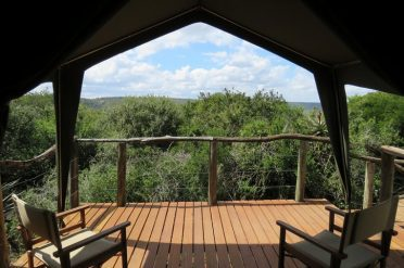 Woodbury Tented Camp Private Deck