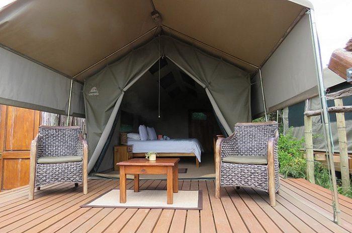 Woodbury Tented Camp Tent Exterior