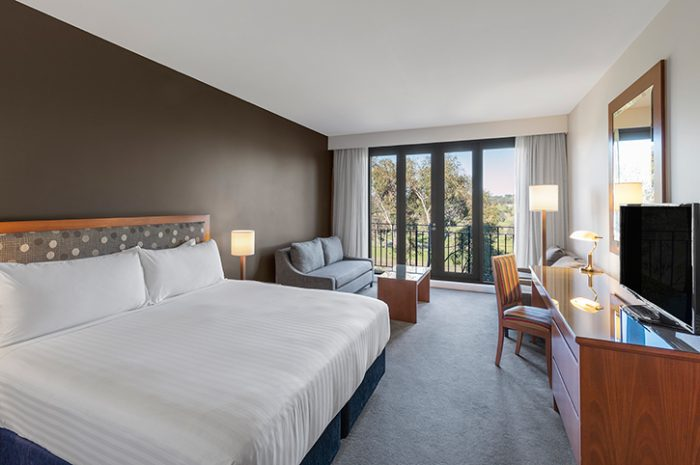 Yarra Valley Lodge King Room