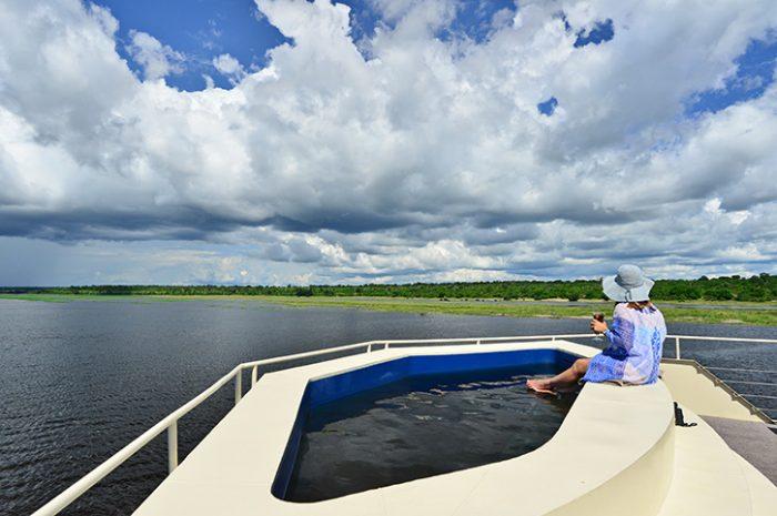Zambezi Queen Plunge Pool