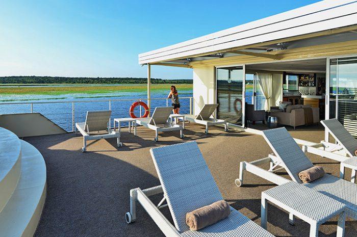 Zambezi Queen Sun Deck