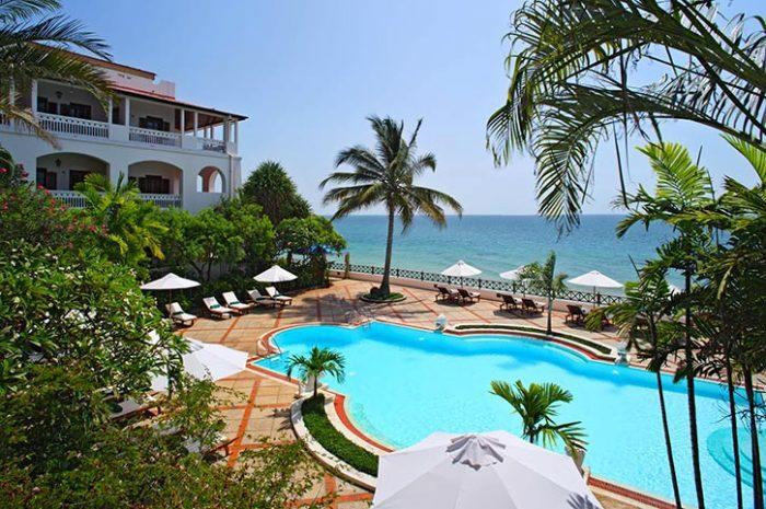 Zanzibar Serena Hotel Pool And View