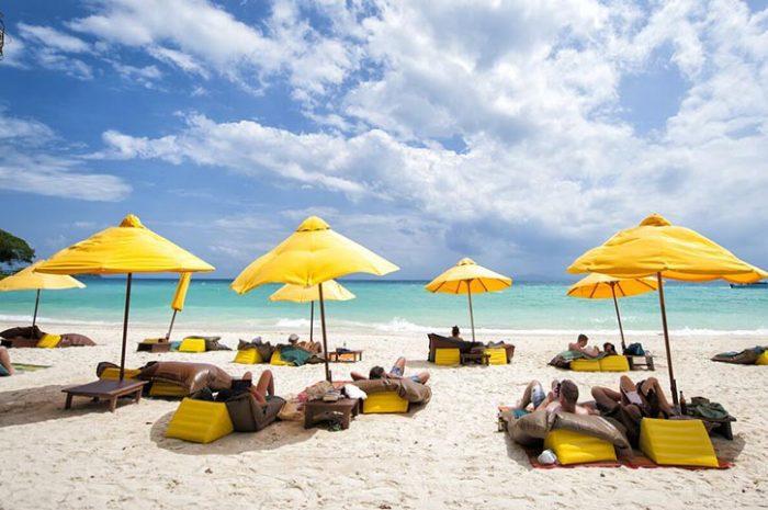 Zeavola Resort Beach Loungers
