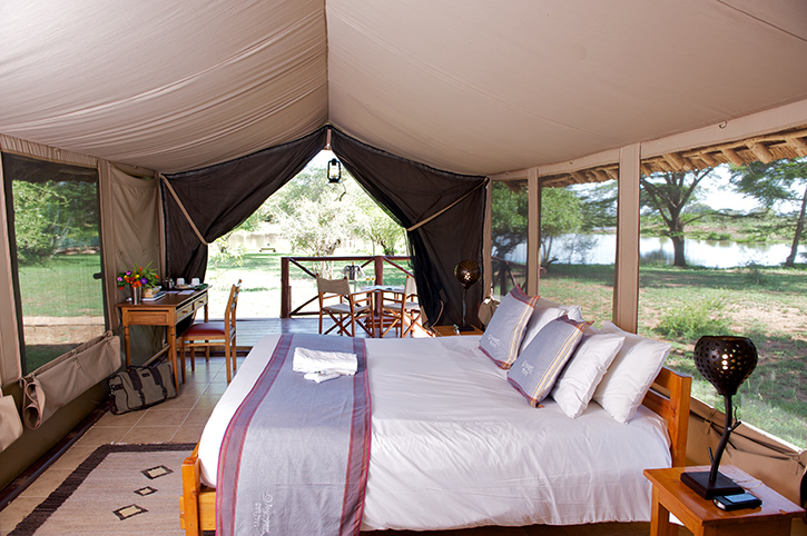 Ziwani Tented Camp Interior