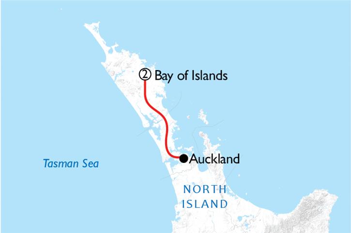 Bay of Islands Map