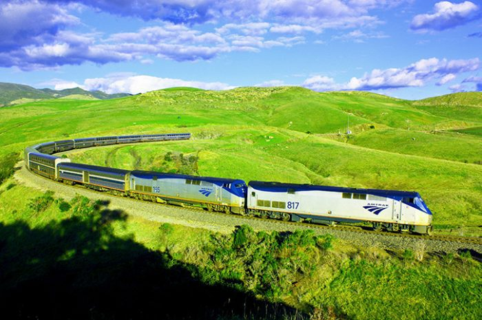 Coast Starlight, America